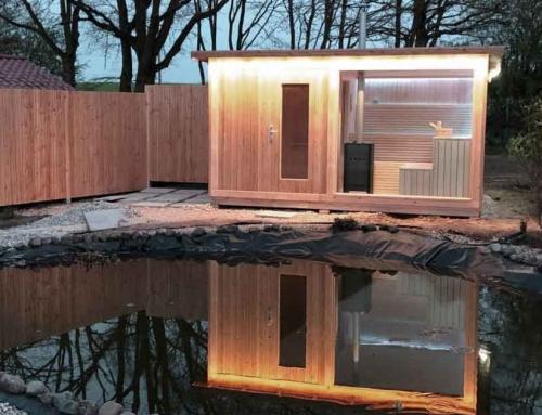 Eine Sauna für Kroatien