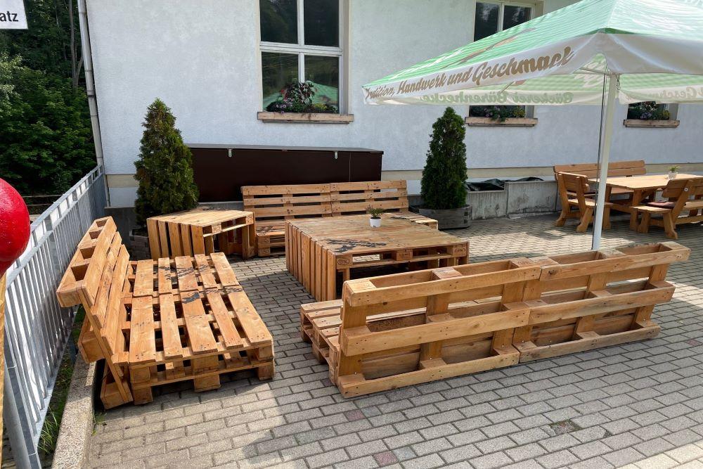 Lounge Couch Bärenhecke